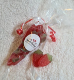 Strawberry Jellies Cone Bag