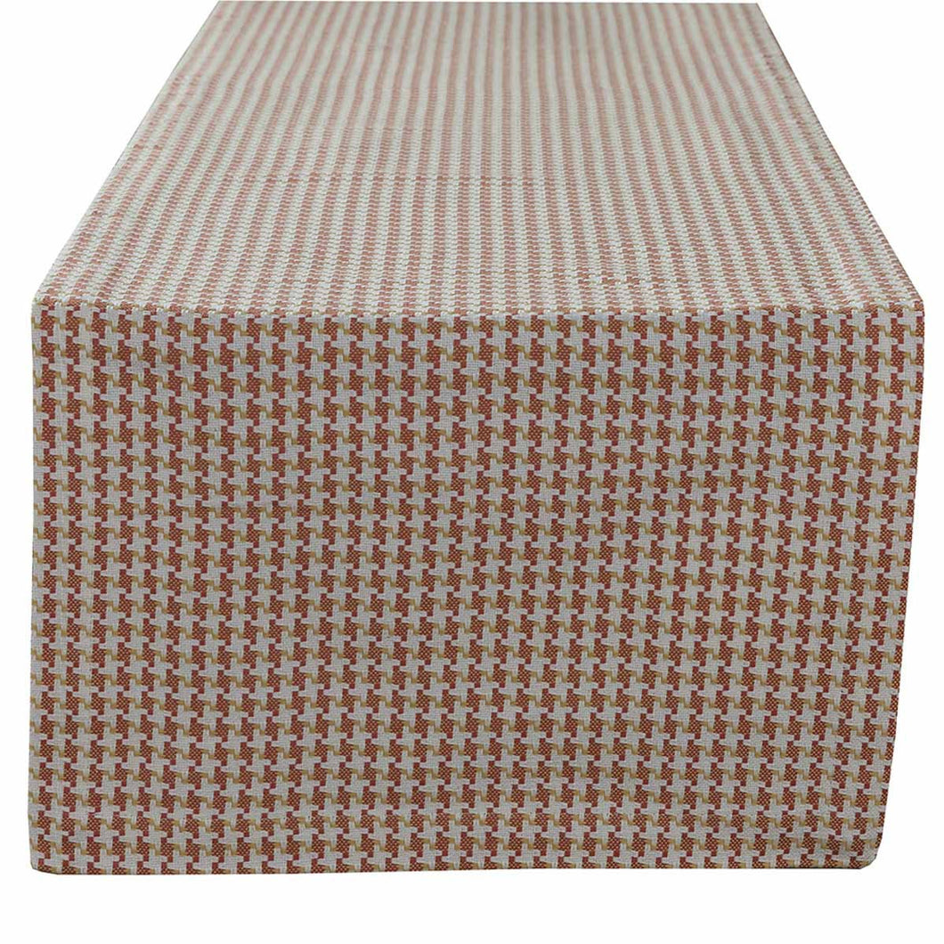 Houndstooth Sunset Table Runner