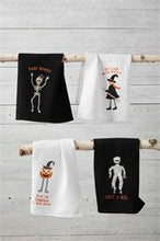 Load image into Gallery viewer, Mummy Halloween Waffle Towel
