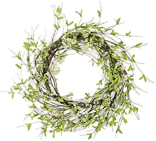 Twig Leaf & Sprite Wreath