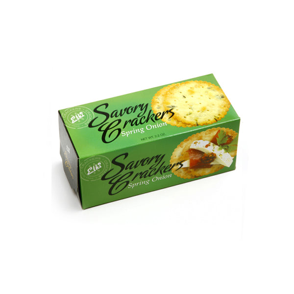 Spring Onion Savory Crackers - Small Box