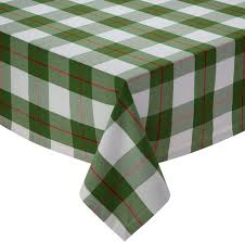 Holly Day Plaid Tablecloth 70