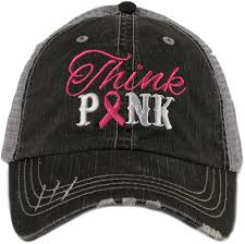 Think Pink Baseball Cap
