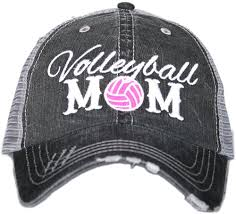Volleyball Mom Cap