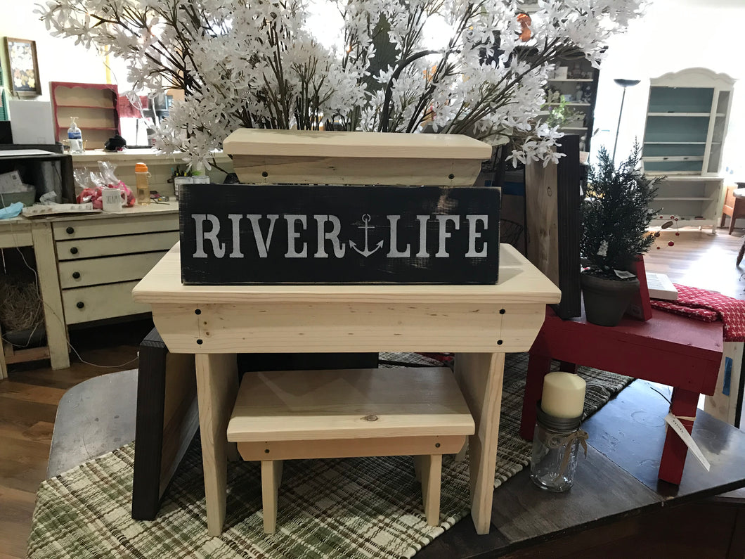 River Life Sign