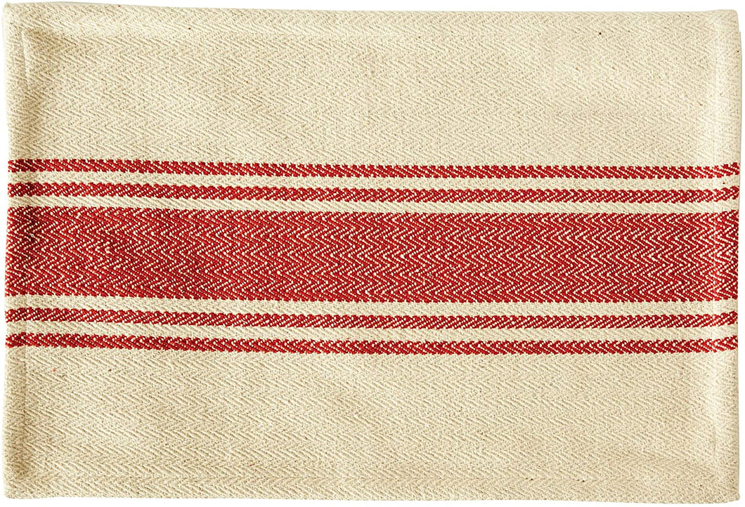 Striped Red Placemat