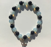 Load image into Gallery viewer, Celestial Opalite & Blue Goldstone Bracelet