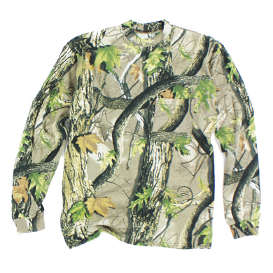 Adult - God's Country Camouflage Long Sleeve Pocket T-Shirt