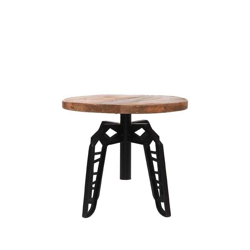 Table 45 cm ronde de salon par BeLoft.