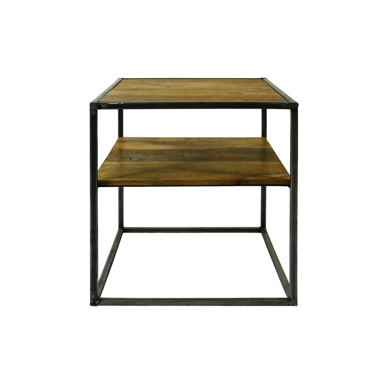 Table d'appoint industrielle par BeLoft.