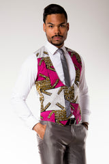 "Gilet complet ""African Prince"""
