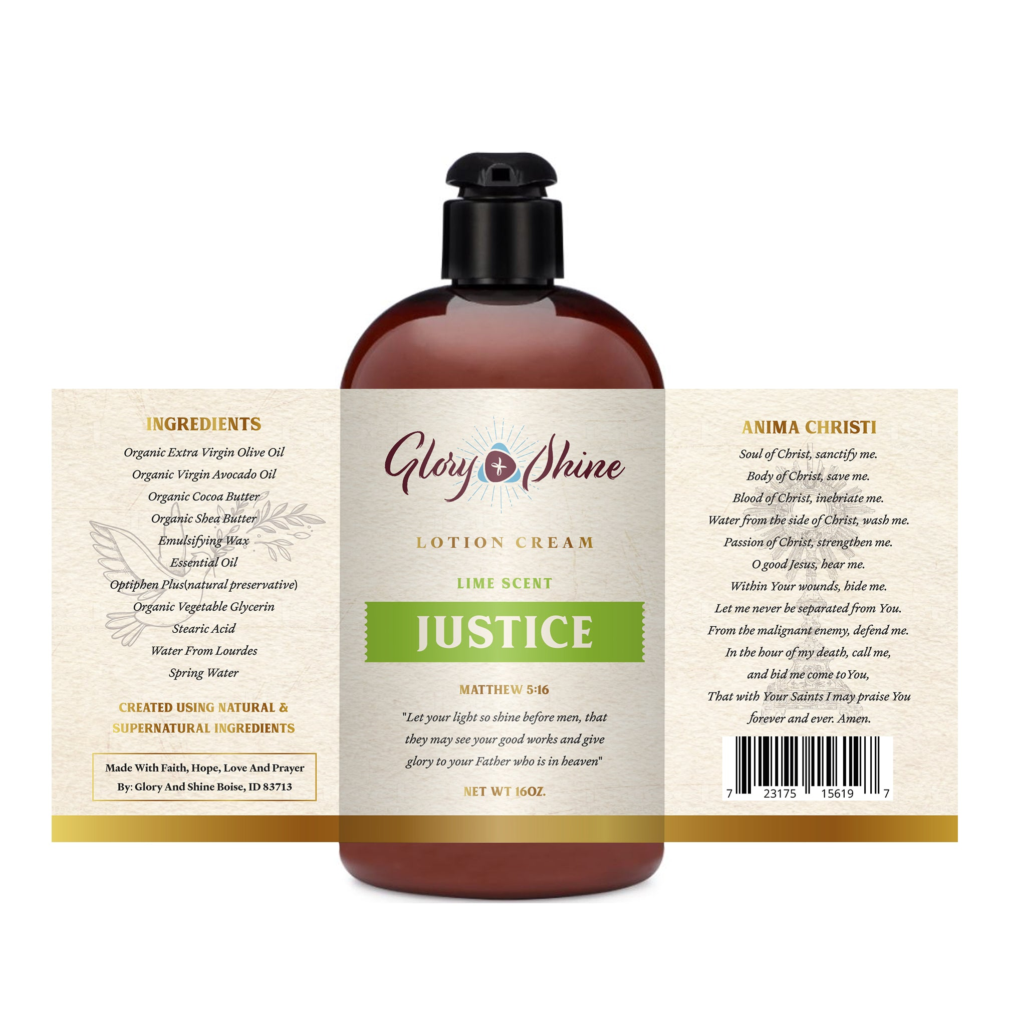Justice Lotion
