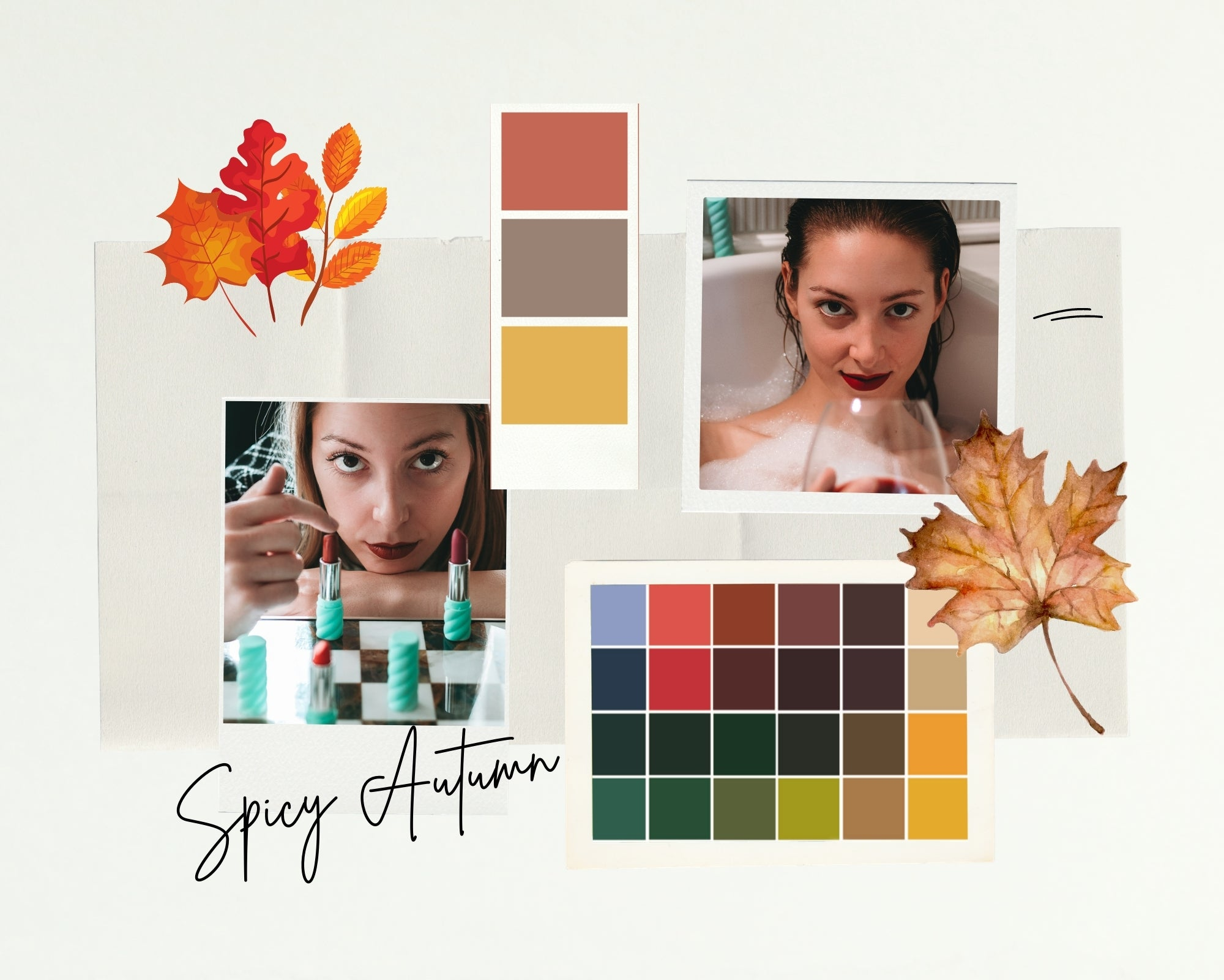 Kit SPICY AUTUMN - Pure Pop Make Up