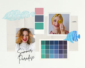 Kit SUMMER PARADISE - Pure Pop Make Up