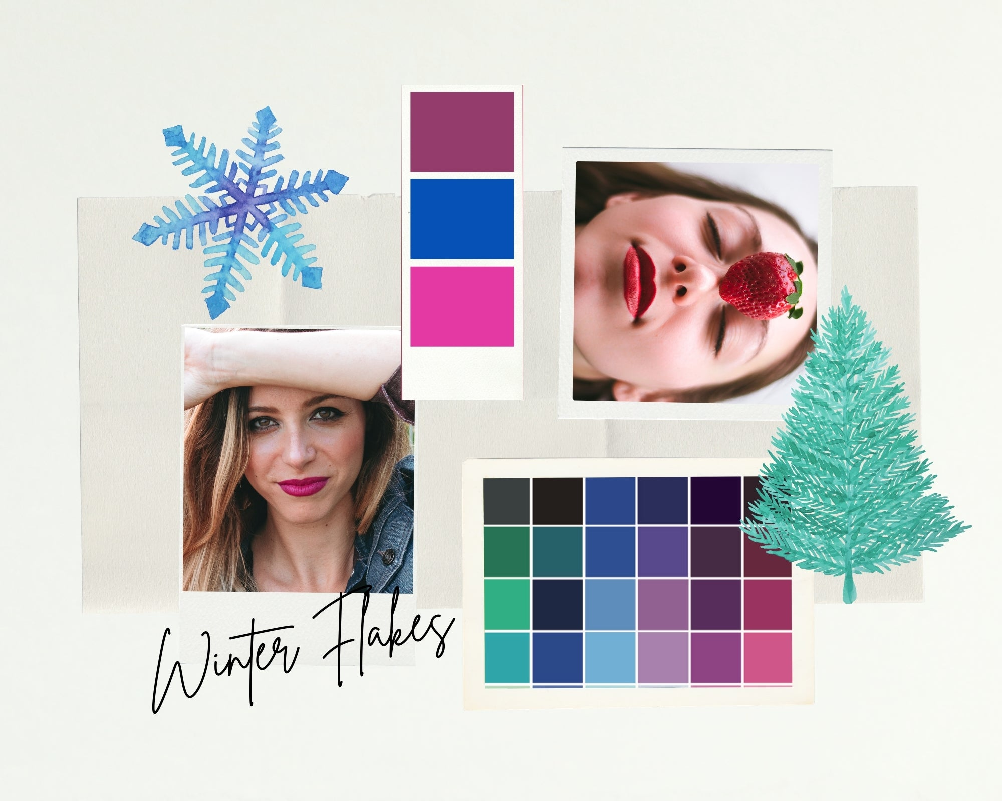 Kit WINTER FLAKES - Pure Pop Make Up