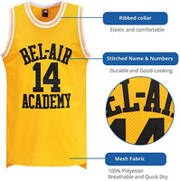 Bel Air Academy Yellow Jersey