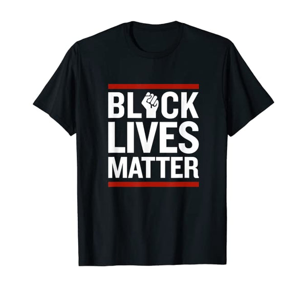 Black Lives Matter Tee - Visibly Black