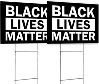 BLM Black Yard Sign