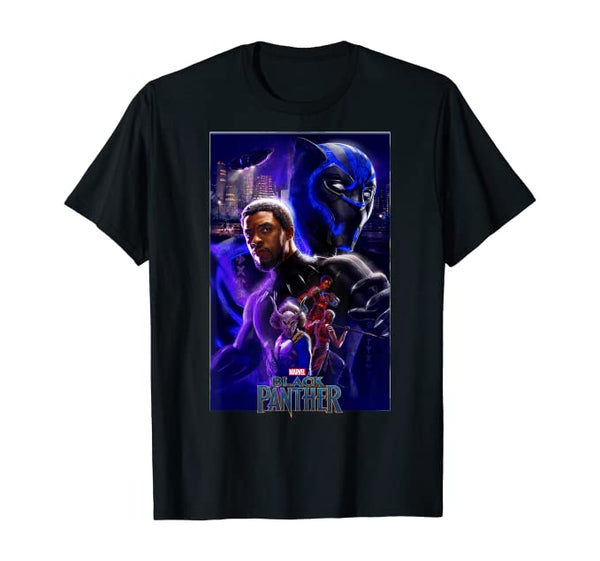 Black Panther Tee - Visibly Black