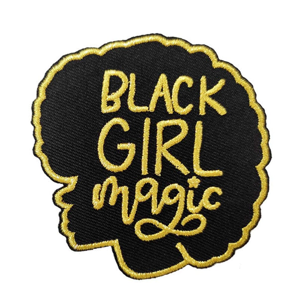 Black Girl Magic Patch - Visibly Black