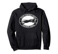 Black Panther Party Hoodie - Visibly Black