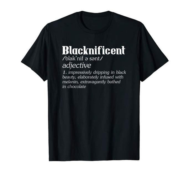 Blacknificent Tee - Visibly Black