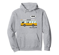 Front of The Bus Hoodie - Visibly Black
