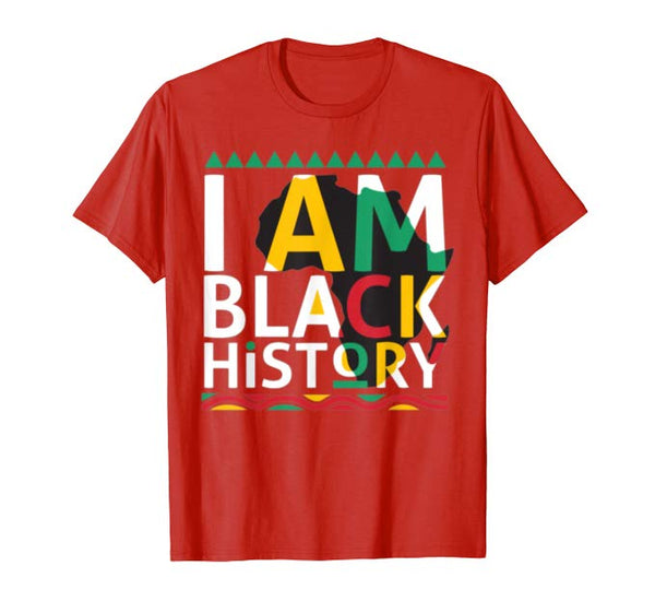 I Am Black History Tee - Visibly Black