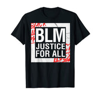 BLM Justice For All Men's Tee
