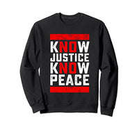 Know Justice Long Sleeve Tee