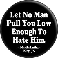 MLK Pin - Visibly Black