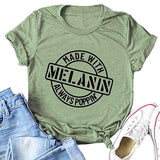 Made With Melanin Tee - Visibly Black