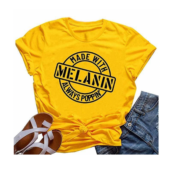 Made With Melanin Tee