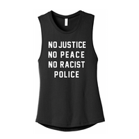 No Racist Police Tank