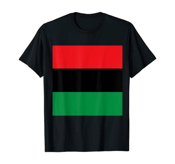 Pan African Men's Tee - Visibly Black