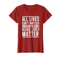 All Lives Can't Matter Women's Tee