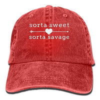 Sorta Savage Hat - Visibly Black