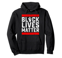 Black Lives Matter Red Line Hoodie