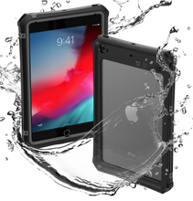 Load image into Gallery viewer, Waterproof Case for iPad Mini 5 iPad Mini 4 Case with Pencil Holder & Shoulder Strap & Stand - Anti-Spy Guru, Anti-Spy, Camera Protection Slider, Privacy, Webcam, Slider, Privacy Screen Protector, iphone, iPhone