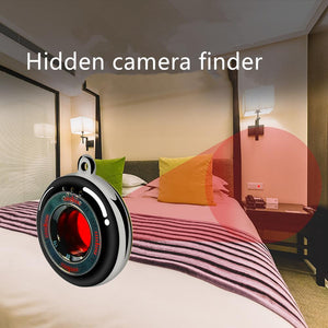Keychain Anti-Spy Portable Hidden-Camera Detector Anti-Theft Vibration Alarm - Anti-Spy Guru, Anti-Spy, Camera Protection Slider, Privacy, Webcam, Slider, Privacy Screen Protector, iphone, iPhone
