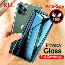 Load image into Gallery viewer, Anti-Spy Privacy Tempered Glass for iPhone 11 Pro Max, X, Xs Max XR, iPhone 8, 7, 6, 6s Plus - Anti-Spy Guru, Anti-Spy, Camera Protection Slider, Privacy, Webcam, Slider, Privacy Screen Protector, iphone, iPhone