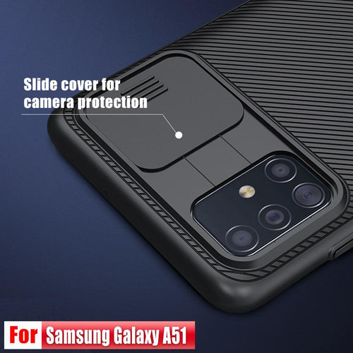 Anti-Spy Camera Protection Case For Galaxy A51 A71 with Camera Cover Slider - Anti-Spy Guru