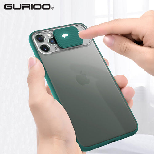 Anti-Spy Thin Slide Camera Protection Cases For iPhone 11 Pro Max X XR XS Max 6 6S 7 8 Plus - Anti-Spy Guru