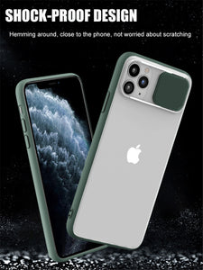 Anti-Spy Thin Slide Camera Protection Cases For iPhone 11 Pro Max X XR XS Max 6 6S 7 8 Plus - Anti-Spy Guru, Anti-Spy, Camera Protection Slider, Privacy, Webcam, Slider, Privacy Screen Protector, iphone, iPhone