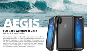 Waterproof Case iPhone Xs Max 6.5 inch Full-Body Rugged Protective Case Built-in Screen Protector - Anti-Spy Guru, Anti-Spy, Camera Protection Slider, Privacy, Webcam, Slider, Privacy Screen Protector, iphone, iPhone