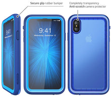 Load image into Gallery viewer, Waterproof Case iPhone Xs Max 6.5 inch Full-Body Rugged Protective Case Built-in Screen Protector - Anti-Spy Guru, Anti-Spy, Camera Protection Slider, Privacy, Webcam, Slider, Privacy Screen Protector, iphone, iPhone