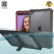 Load image into Gallery viewer, Waterproof Case for iPad Mini 5 iPad Mini 4 Case with Pencil Holder & Shoulder Strap & Stand - Anti-Spy Guru