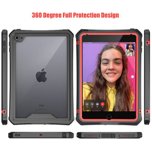 Waterproof Case for iPad Mini 5 iPad Mini 4 Case with Pencil Holder & Shoulder Strap & Stand - Anti-Spy Guru, Anti-Spy, Camera Protection Slider, Privacy, Webcam, Slider, Privacy Screen Protector, iphone, iPhone