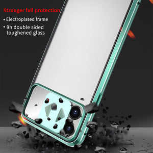 Anti-Spy Luxury Magnetic Privacy Case With Mirror For iPhone 11 Pro Max XS XR X 8 7 Plus SE - Anti-Spy Guru, Anti-Spy, Camera Protection Slider, Privacy, Webcam, Slider, Privacy Screen Protector, iphone, iPhone