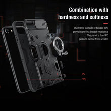 Load image into Gallery viewer, Anti-Spy Armor CamShield  Case For iPhone 7/8/ SE 2020 Rugged Shield Ring Kickstand - Anti-Spy Guru, Anti-Spy, Camera Protection Slider, Privacy, Webcam, Slider, Privacy Screen Protector, iphone, iPhone